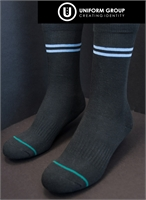 Socks - Mid Calf (3pk)-Avonside Girls' & Shirley Boys' High School Uniform Shop